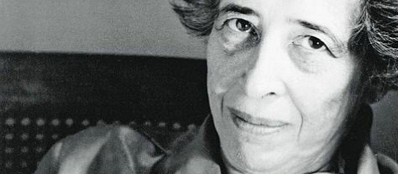 """Un fragmento de """"Sobre la violencia"""", un texto de Hannah Arendt"""