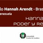 INVITACIÓN VI CICLO HANNAH ARENDT