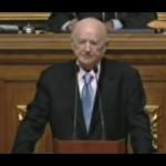 Sr. Hillo Ostfeld en la Asamblea Nacional