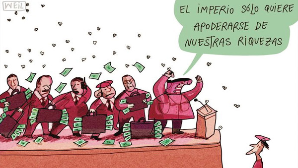 La ideología en el régimen bolivariano