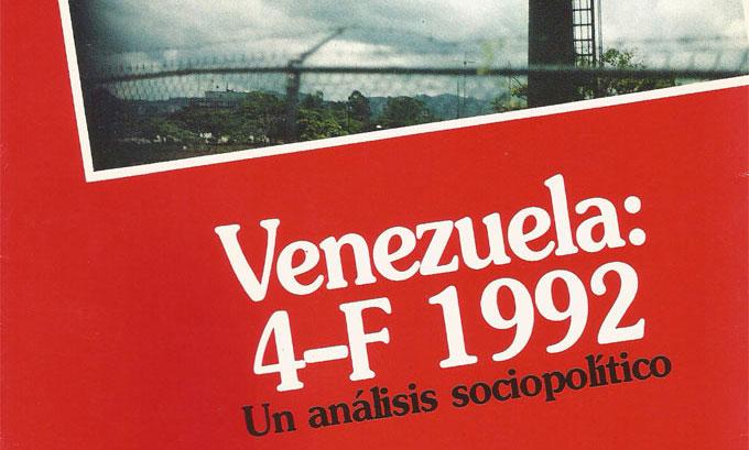 Venezuela: 4-f 1992, un análisis sociopolítico