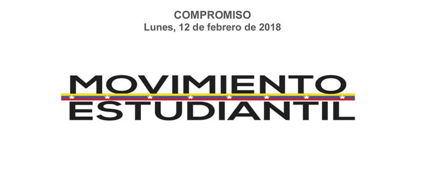 El compromiso asumido por el Movimiento Estudiantil