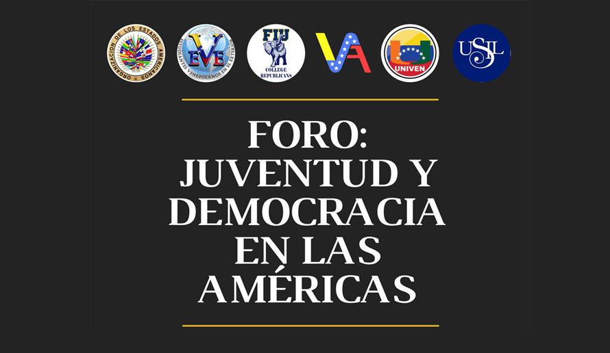 Foro: Juventud y Democracia en las Américas