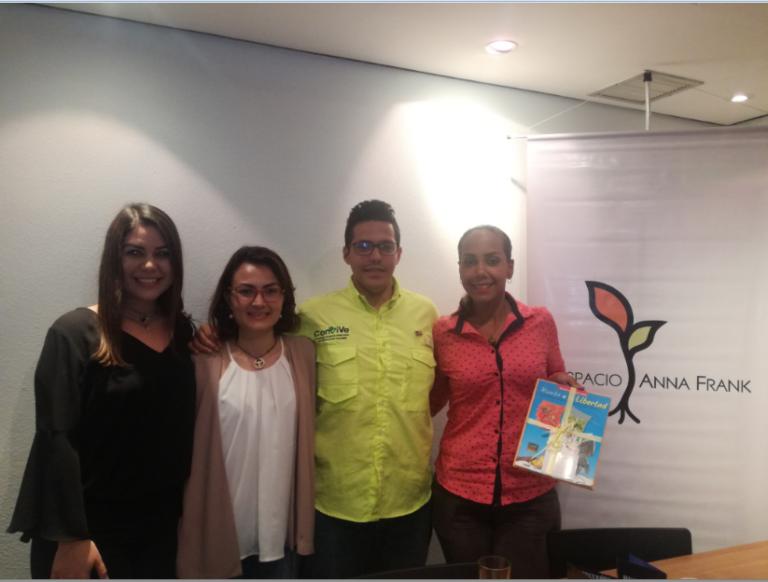 Cuatro jóvenes líderes contaron sus experiencias de llevar una organización civil en Venezuela