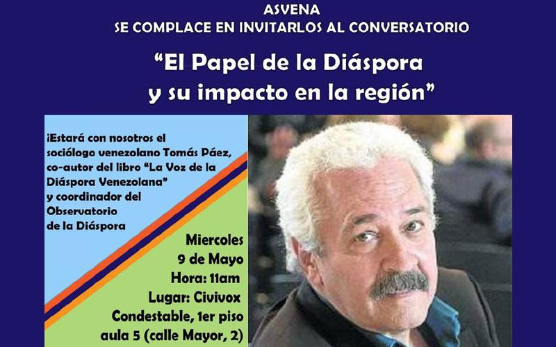 Conversatorio: El Papel de la Diáspora y su impacto en la región