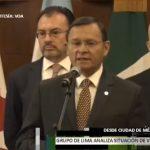 Grupo de Lima da ultimátum a Nicolás Maduro
