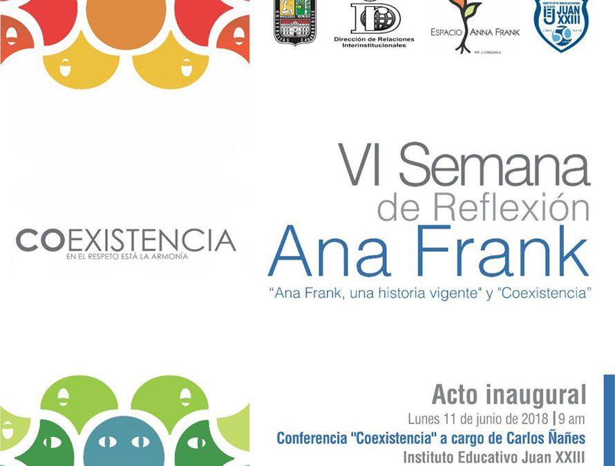 VI Semana de Reflexión Ana Frank
