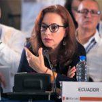 Canciller de Ecuador María Fernanda Espinosa: Primera mujer latinoamericana en ocupar la presidencia de la Asamblea de la ONU