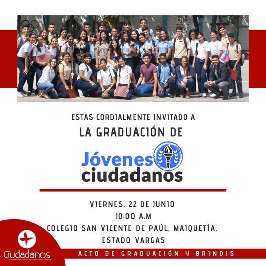 Graduación de Jóvenes ciudadanos