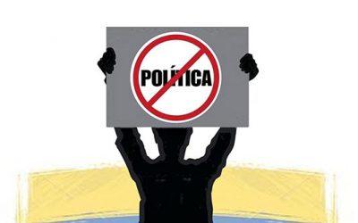 De antipolítica inútil y crisis perversa