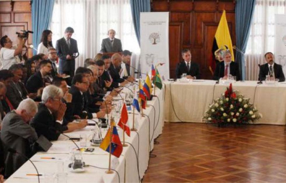 Cancilleres de América Latina solicitaron ayuda a la comunidad internacional ante la desproporcionada ola migratoria de los venezolanos