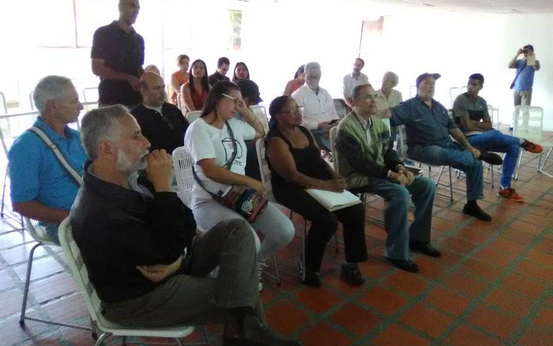 Proyecto Confianza Política en la sede de la Unión de Transporte de Catia