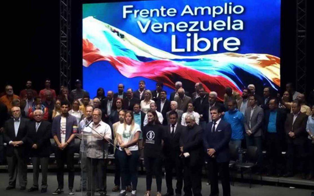 Frente Amplio Venezuela Libre expresó su repudio por la muerte de Fernando Albán