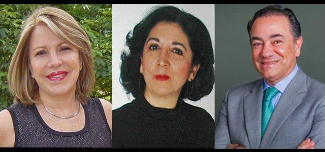 Foro con la presentación de los libros de Elizabeth Valarino, Thays Peñalver y José Perrella
