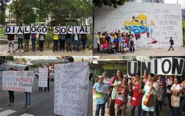 Diálogo Social: Iniciativa propuesta por varias organizaciones no gubernamentales