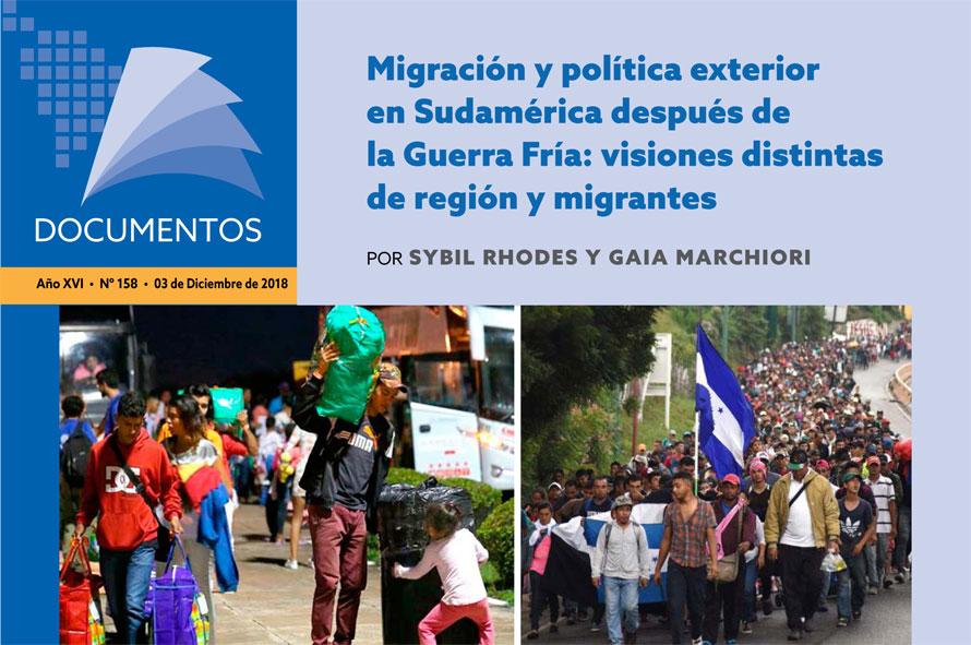 Migración y política exterior en Sudamérica después de la Guerra Fría: visiones distintas de región y migrantes