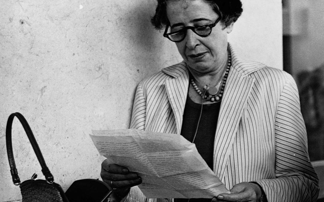 Hannah Arendt y Gershom Scholem: la librepensadora y el viejo sionista