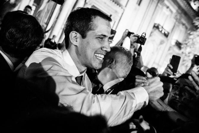 """""""Pronto volverán a casa"""": prometió Juan Guaidó a los miles de venezolanos que lo recibieron en los 5 países de Latinoamérica que visitó recientemente"""