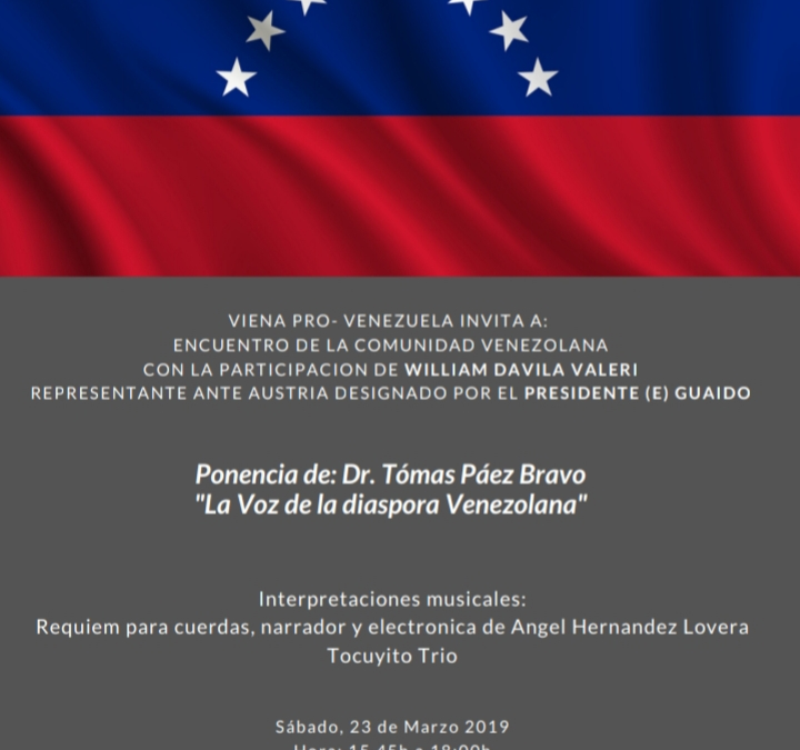 La voz de la diáspora venezolana en Austria