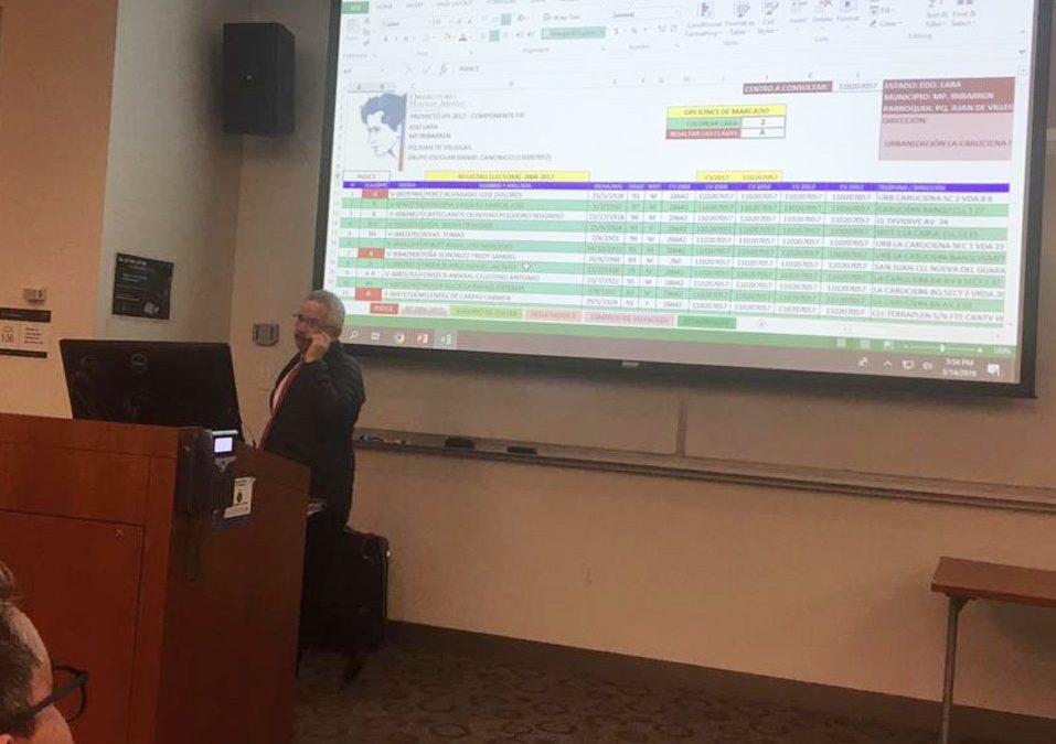 El OHA participó en el Seminario de Estrategias en Campañas Electorales