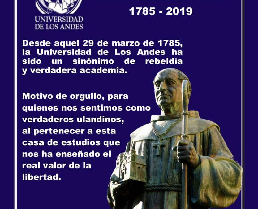 Universidad de Los Andes: 234 años del Santuario de Ideales