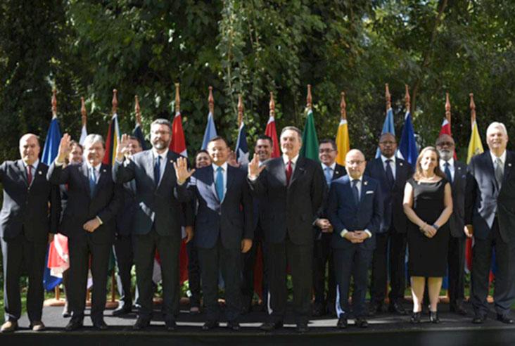 Declaración del Grupo de Lima reunido en Santiago de Chile