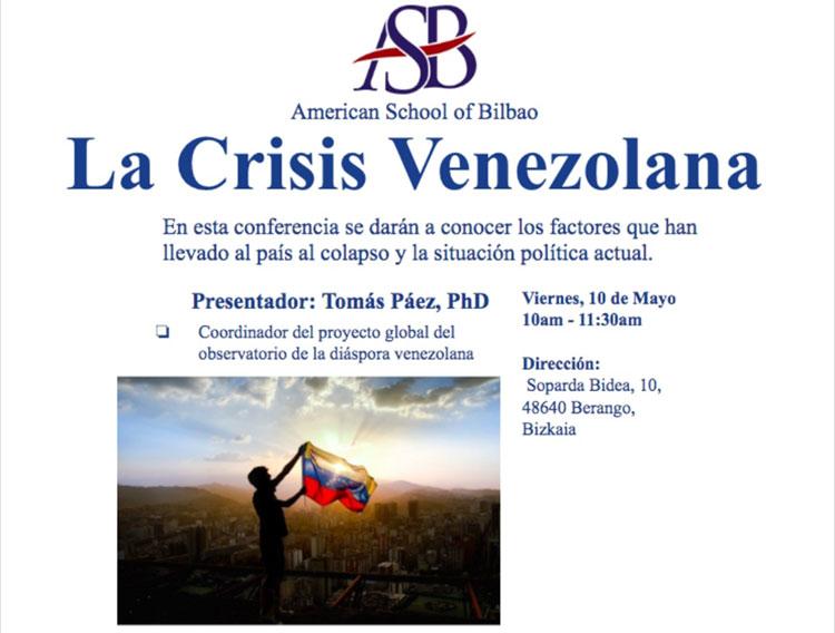 Conferencia: La Crisis Venezolana