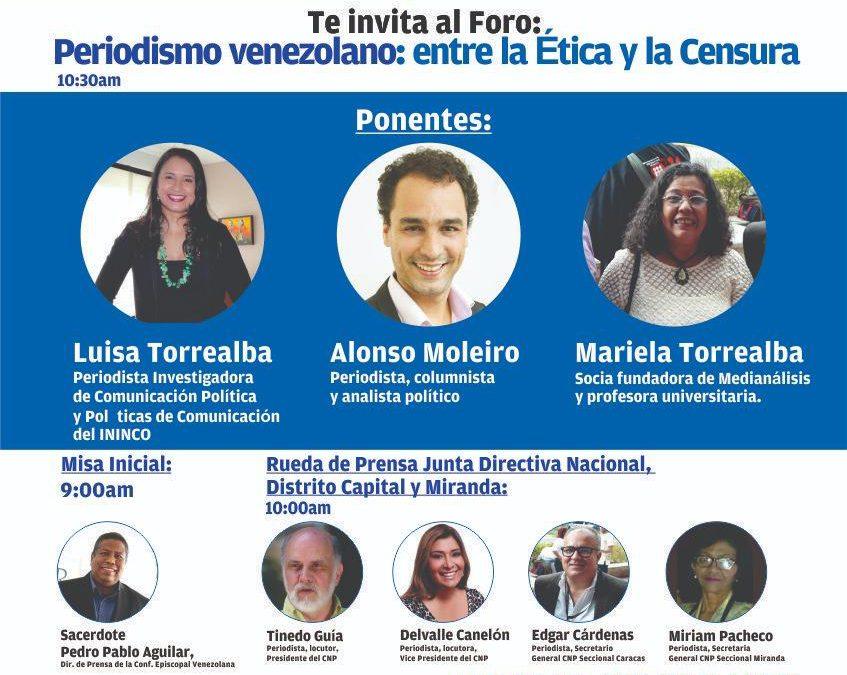 Foro: Periodismo venezolano: entre la Ética y la Censura