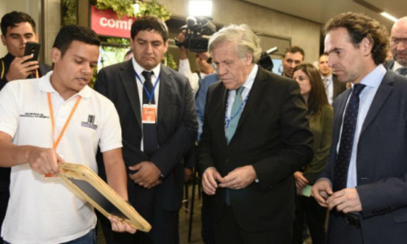 Secretario General de la OEA inauguró V Foro de Jóvenes de las Américas en Medellín