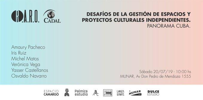 Desafíos de la gestión de espacios y proyectos culturales independientes. Panorama Cuba