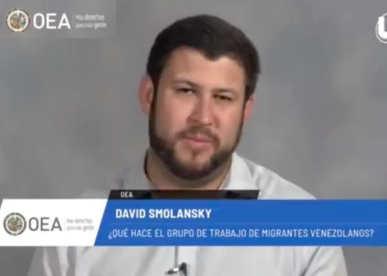 David Smolansky denunció: La crisis de la migración venezolana se agudiza