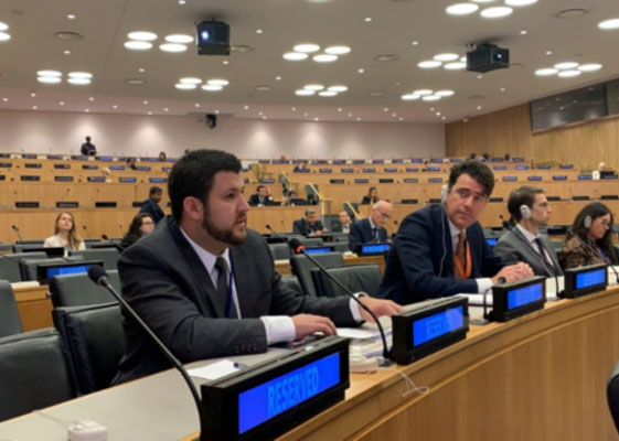 David Smolansky en la ONU:Si no cesa la usurpación, en 2020 habrá mas refugiados venezolanos que sirios