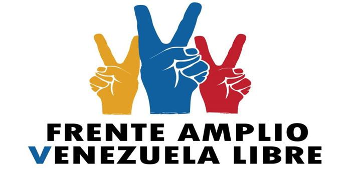 Frente Amplio Venezuela Libre Capítulo Caracas respalda propuesta de Gobierno de Emergencia Nacional