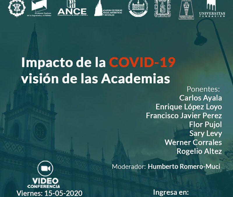 Impacto de la COVID-19 – Visión de las Academias