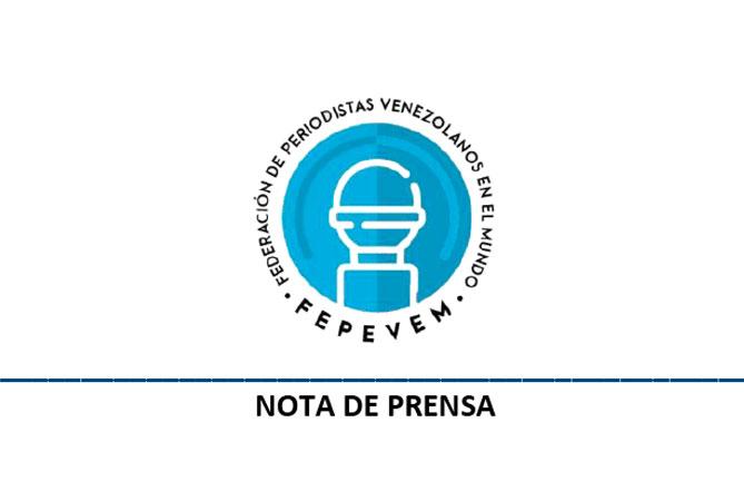 Asociaciones de periodistas venezolanos en el mundo se unen en Federación