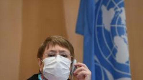 Michelle Bachelet Alta Comisionada de DDHH de la ONU:En Venezuela la crisis política se ha agudizado