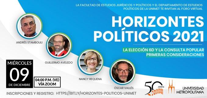 Horizontes políticos 2021