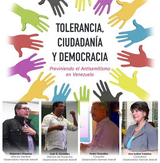 INVITACIÓN: Seminario Tolerancia, Ciudadanía y Democracia 29/NOV