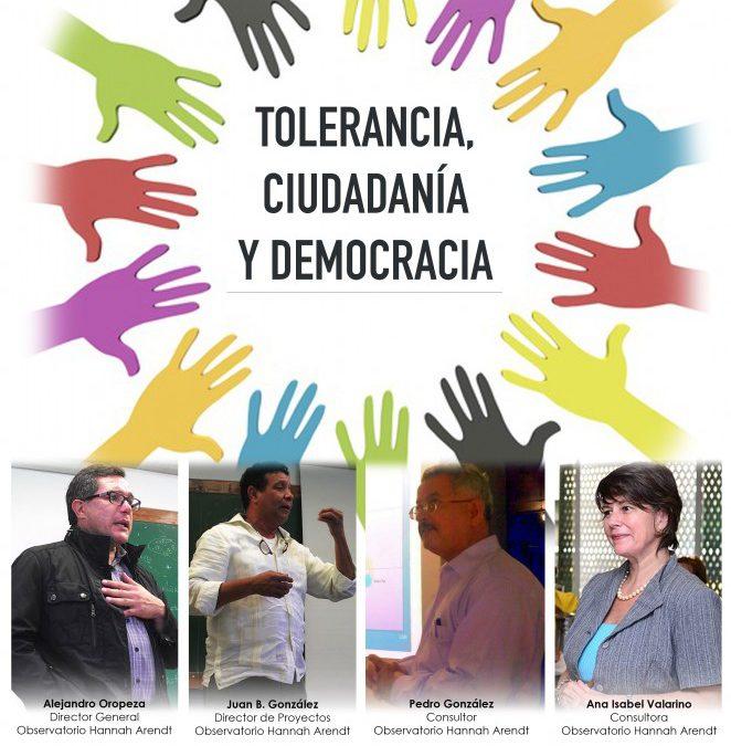 INVITACIÓN: Seminario Tolerancia, Ciudadanía y Democracia 26/NOV