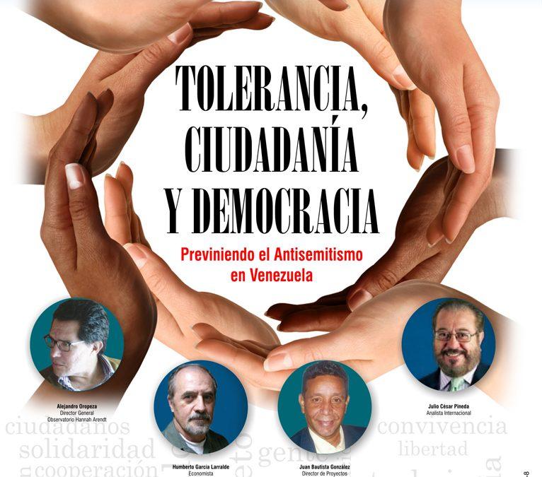 INVITACIÓN: Seminario Tolerancia, Ciudadanía y Democracia 15/OCT