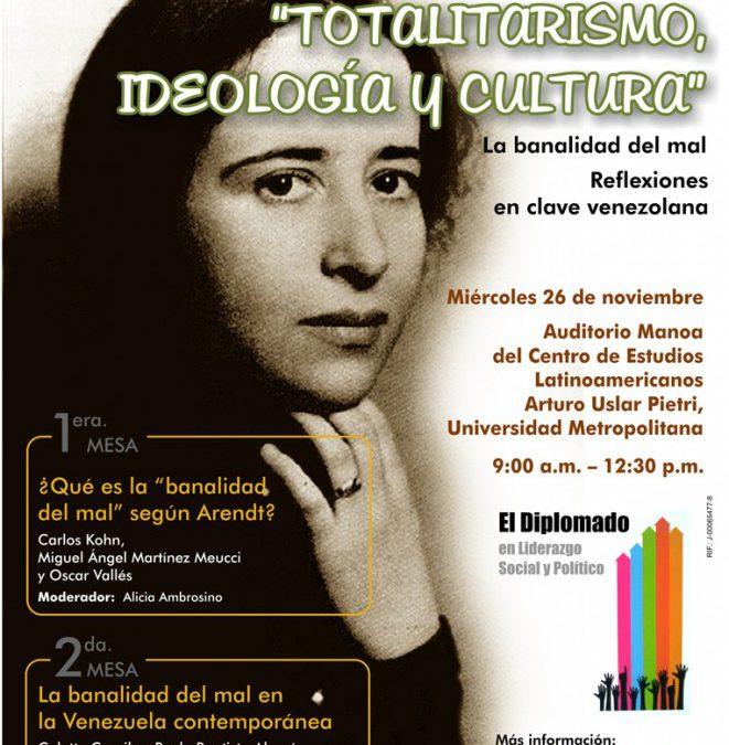 """VII COLOQUIO """"TOTALITARISMO, IDEOLOGÍA Y CULTURA"""""""
